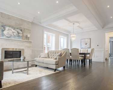 Custom living room from black pearl custom homes