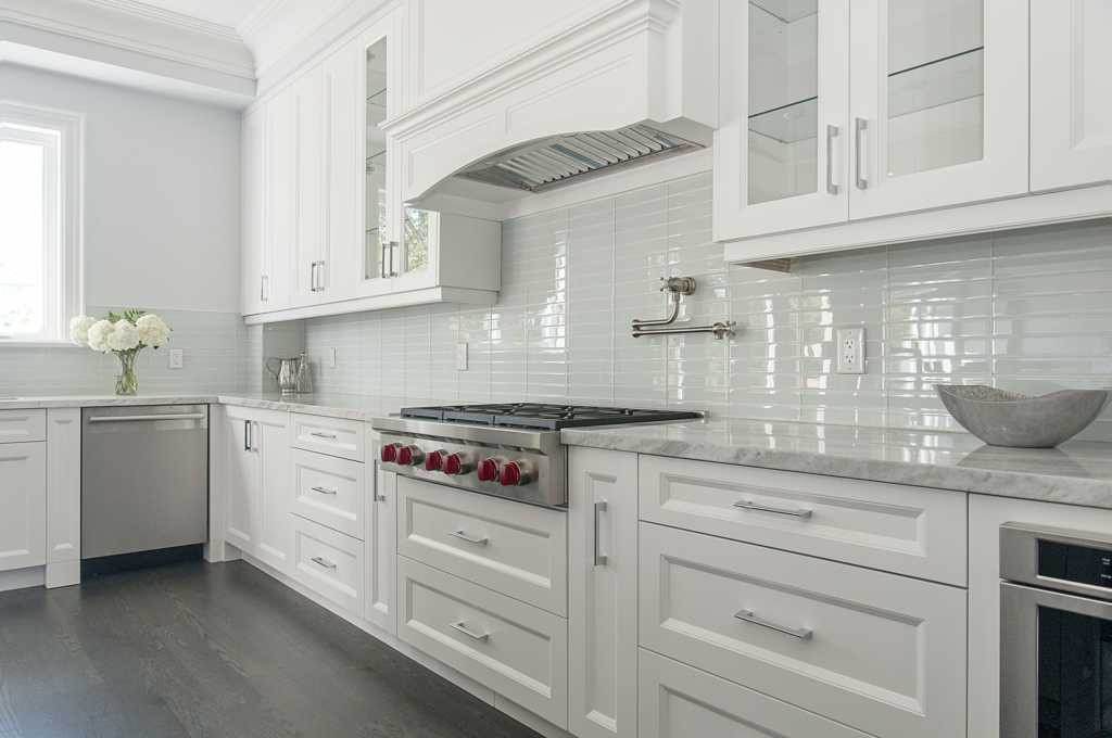 Kitchen cabinets by custom home professionals