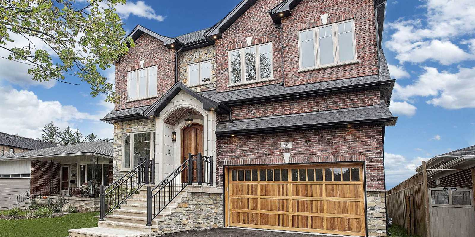 Black Pearl custom home in Etobicoke