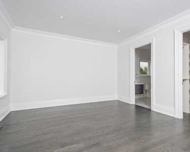 Black Pearl custom home large bedroom