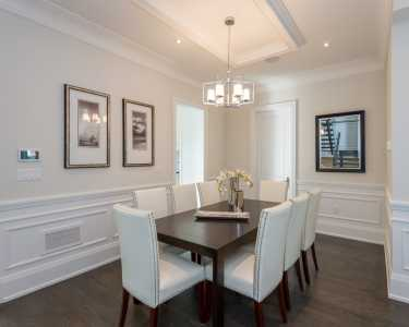 Dining room design by Black Pearl