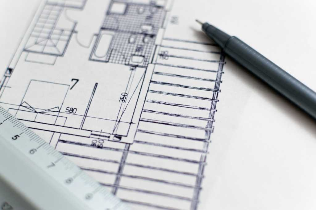 blueprint of custom home - design your dream house