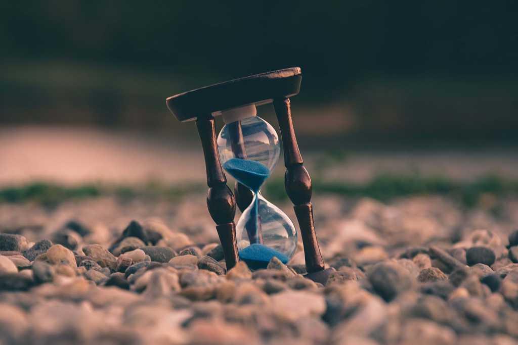 photo of sand clock