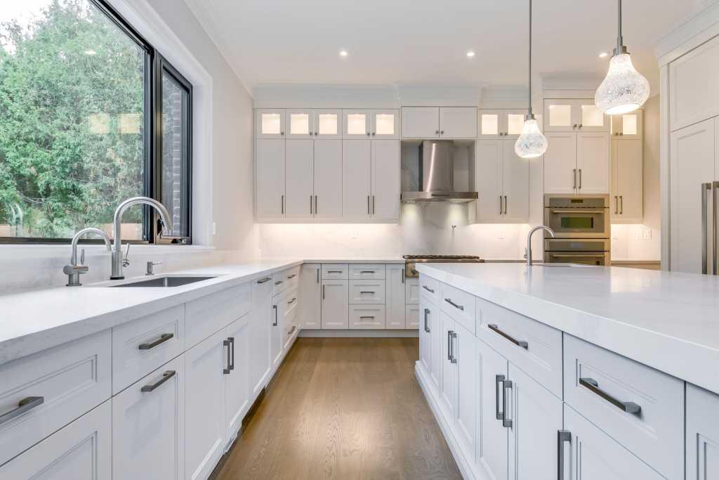 custom kitchen cabinets with back lit - home renovation toronto