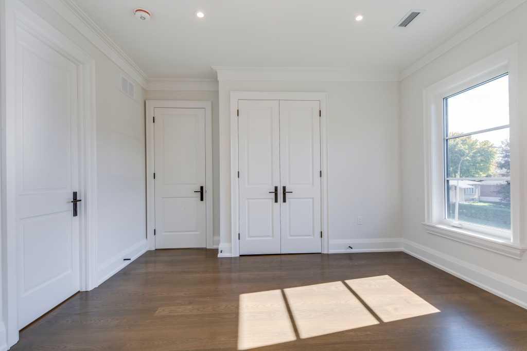 interior doors in custom bedroom by black pearl custom homes