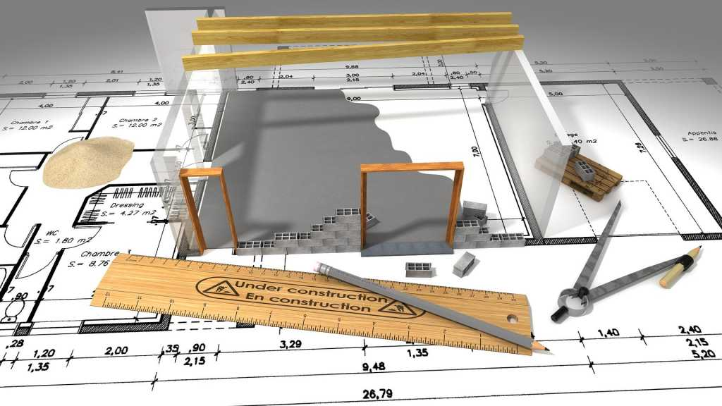 Blueprint of Custom Home by Black Pearl Newmarket